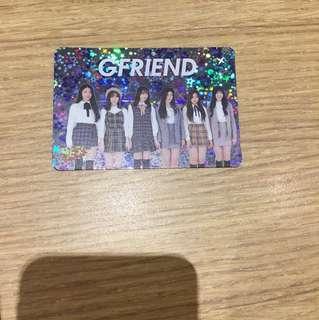 GFRIEND 29期yes card團體閃卡