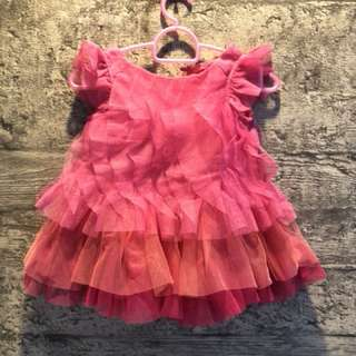 Lovely pink dress for 0-3 months
