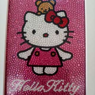 Hello Kitty frame made by Refugee Ladies