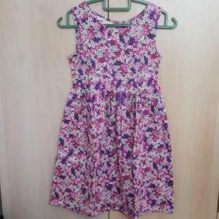 H&M Girl floral printed dress