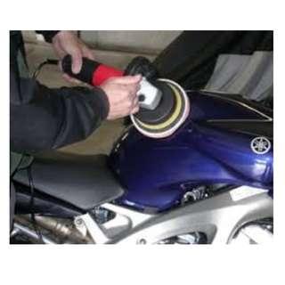 Motorbike Grooming -Polishing- Glass Coating