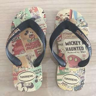 Havaianas Slippers - Disney Mickey Mouse
