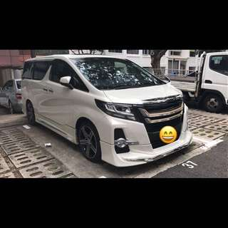 Toyota Alphard 2.5 Auto S A-Package 7-Seater