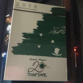 REPRICED! Starbucks Planner 2018