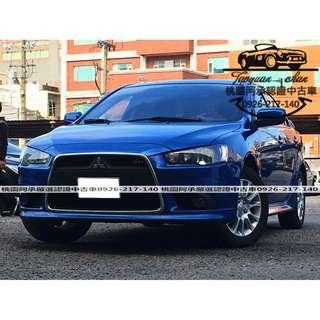 【FB搜尋桃園阿承】三菱 超人氣FORTIS 2013年 1.8 藍色 二手車 中古車