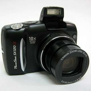 Canon powershot SX120is類單眼相機