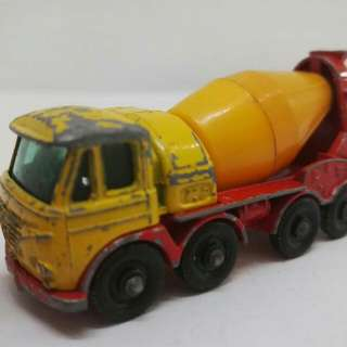 Concrete Truck matchbox Lesney