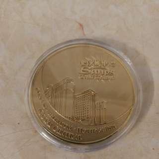 金沙娛樂城紀念幣