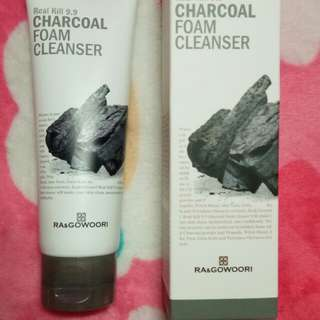 Ra&Gowoori Charcoal Foam Cleanser