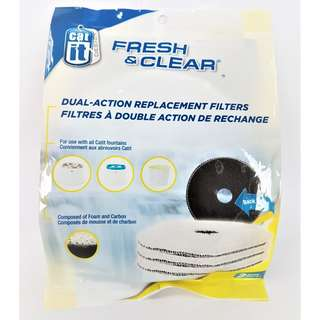 Catit Fresh & Clear Dual Action Replacement Filter