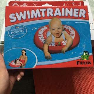Freds Swimtrainer Classic Red Float