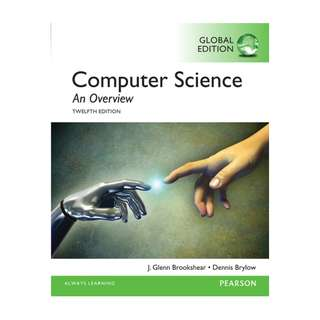 Computer Science: An Overview, Global Edition (12e) BY Glenn Brookshear, Dennis Brylow