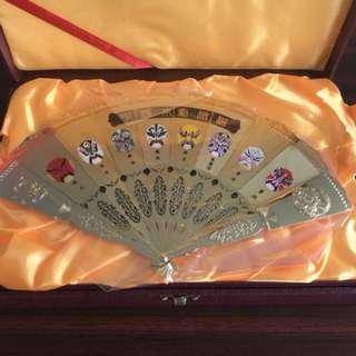 Gold Fan Set
