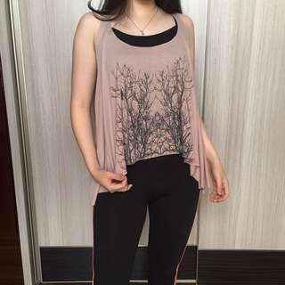 Pale pink top