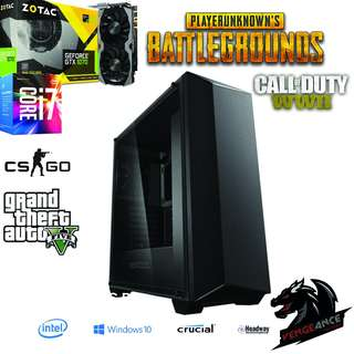 HIGH END GAMING SYSTEM / VIDEO EDITING SYSTEM (PUBG, CSGO, CALL OF DUTY WWII AND GTA V) ULTRA SETTINGS!