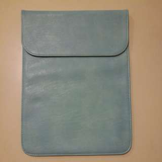 Sky blue laptop case