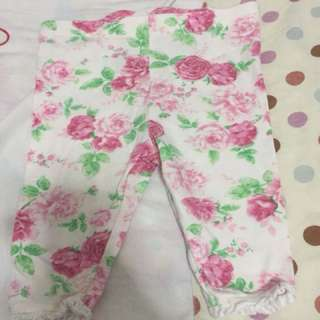 Almost new mothercare 6-9 months pants