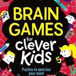 Brain Games For Clever Kids  4.3 (13 ratings by Goodreads) Paperback English By (author)  Gareth Moore