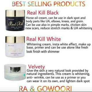 Real Kill Black Horse Oil Cream
