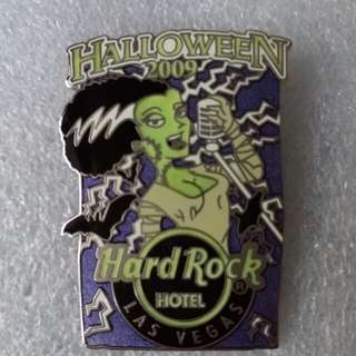 Hard Rock Cafe Pins ~ LAS VEGAS HOTEL HOT 2009 HALLOWEEN BRIDE OF FRANKENSTEIN!