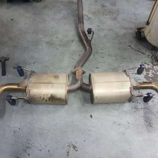 Mazda RX8 - Apexi Exhaust with Cert