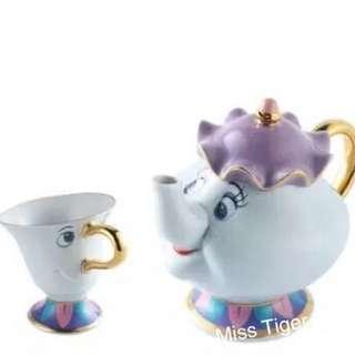 茶煲太太與阿齊杯
