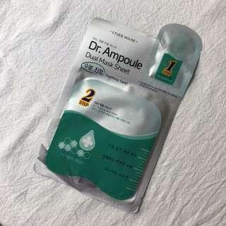 Etude House Dr. Ampoule Dual Mask Sheet