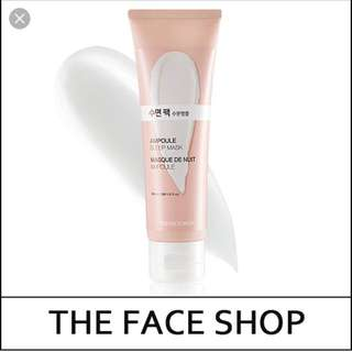 BN THE FACE SHOP AMPOULE SLEEP MASK