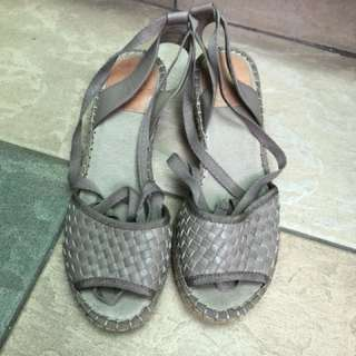 Leather Sandals 涼鞋
