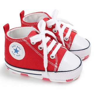 Baby Shoes ~ Canvas Sneakers