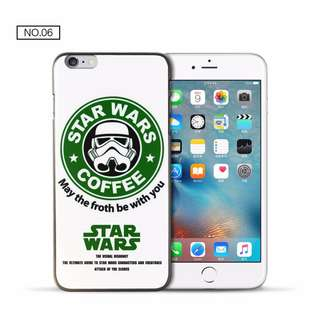 043 hard Case casing PC Iphone 5 5s SE 6 6s 7 8 plus Star wars