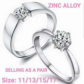 Couple Ring Adjustable