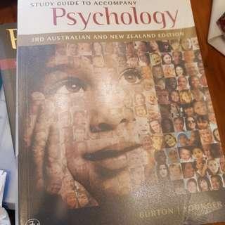 Almost Brand New Australian Psychology Textbooks for Degree or Diploma studies