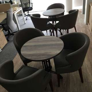 French style cafe table and chairs set