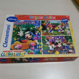 Mickey Mouse Puzzle for Kids