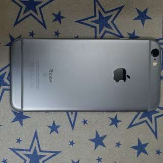 iphone 6s 128Gb Space grey with 2 original batteries