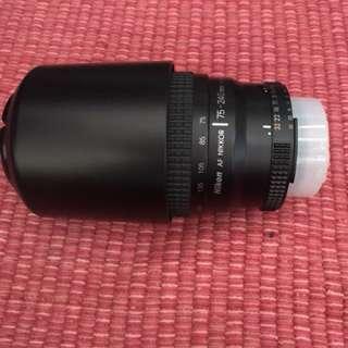 Nikon SLR lens