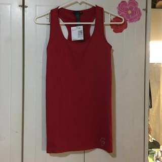 ORIGINAL GUESS Jeans red tank