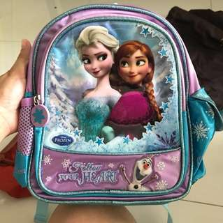 Frozen design small backpack