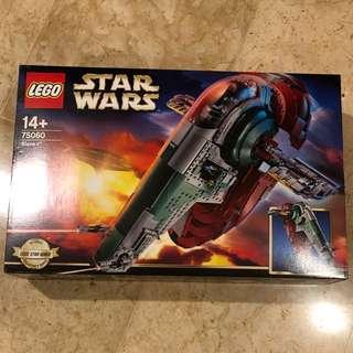 Lego Star Wars Slave 1 75060 original