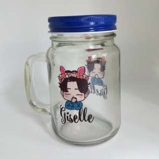 Valentine's day gift | Couple picture printing | Customised Mason jars