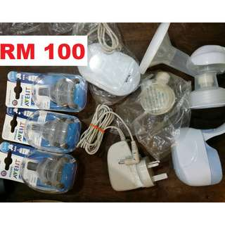 Avent Electric Pump + Avent teats