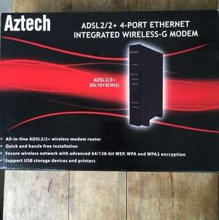 Aztech wireless-G Modem DSL1015EW(S)