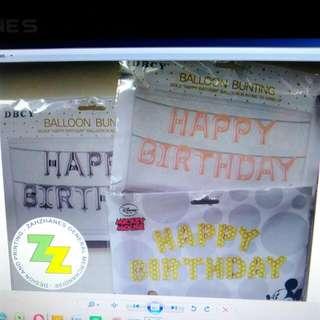 Letter Balloons Set