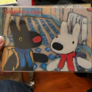 Gaspard et Lisa 麗莎和卡斯柏 - 明信片 Postcard (2)
