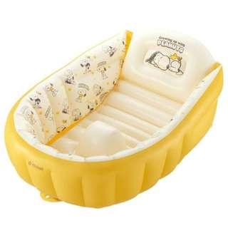 [預訂,落訂後約一至兩星期到貨] 日本直送 日本Snoopy BB 冲涼浴缸