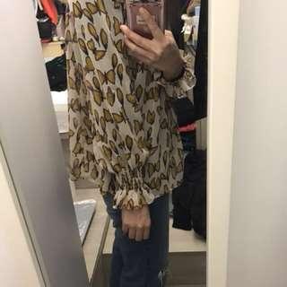 韓國雪紡衫