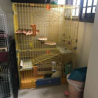 Three tier Cage for Rabbit / Cat