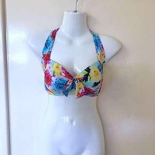 BNWT SEAFOLLY Halter bikini top Geisha Separate in Dahlia Size 12