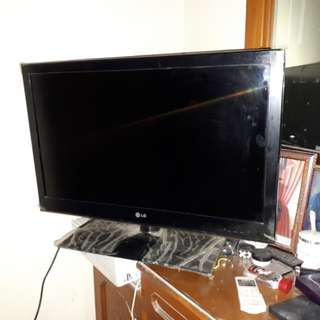 TV LG bundling dvd player philips